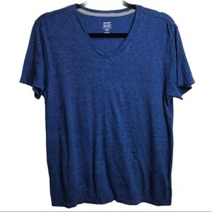 Old Navy Soft Wash Ultra Doux Heather Navy T Shirt